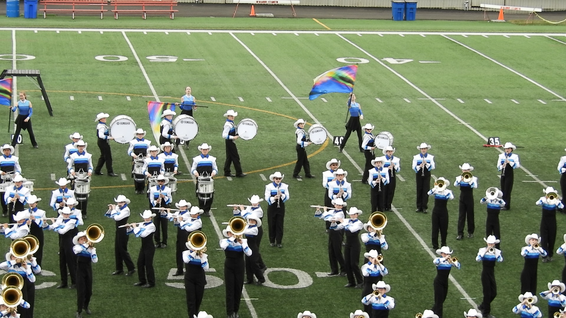 What is a field show?